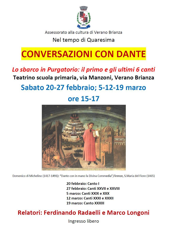 Conversazioni con Dante-Purgatorio