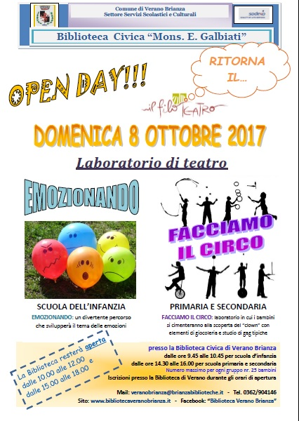 OPEN DAY IN BIBLIOTECA