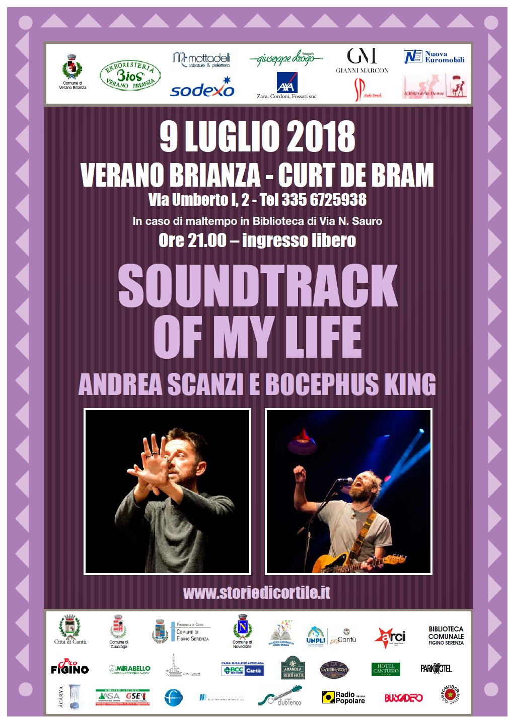 ANDREA SCANZI – SOUNDTRACK OF MY LIFE
