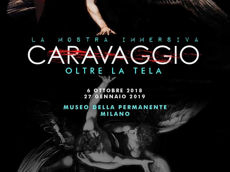 CARAVAGGIO – OLTRE LA TELA