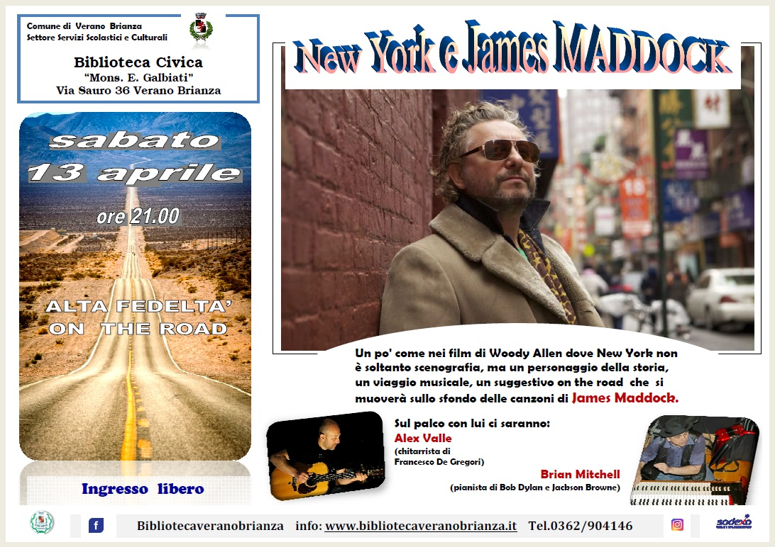NEW YORK E JAMES MADDOCK